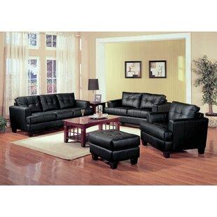 Kirkus 4 Piece Living Room Set by Latitude Run®