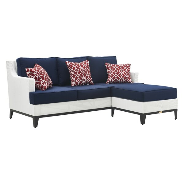 Hampton Patio Sectional with Cushions by Tommy Hilfiger Tommy Hilfiger