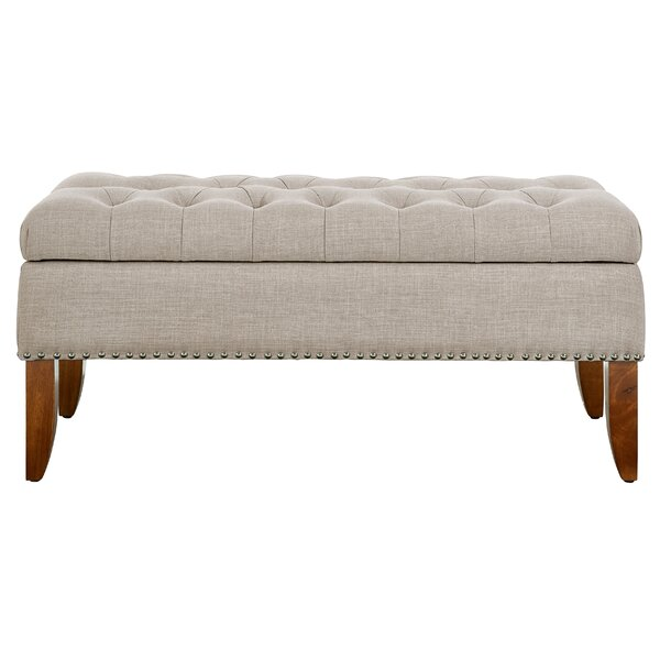 Mortensen Upholstered Storage Bench by Charlton Ho