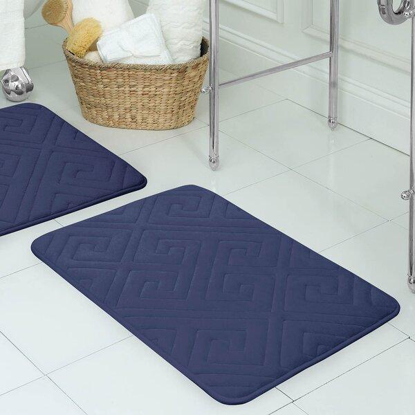 Raney Micro Plush Memory Foam Bath Mat by Wrought Studio