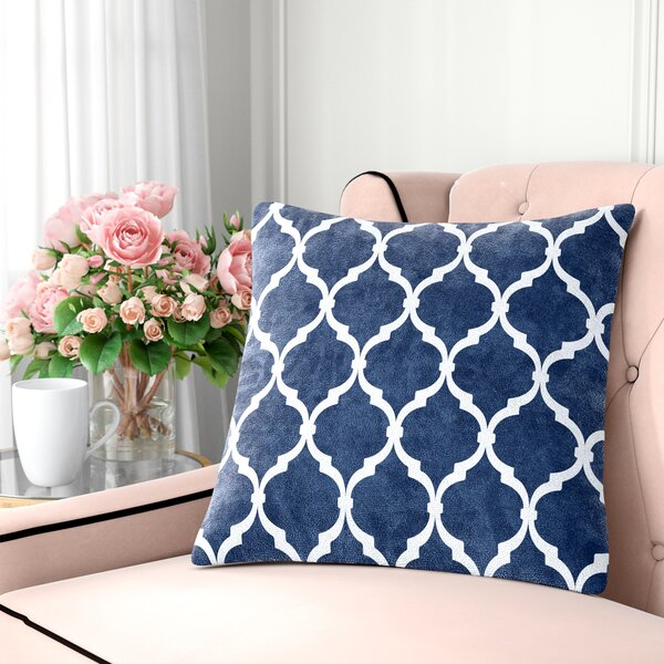 Flannagan Square Throw Pillow by Andover Mills
