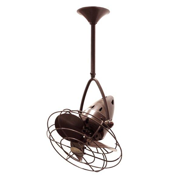 13 Jarold 3 Blade Ceiling Fan by Matthews Fan Company