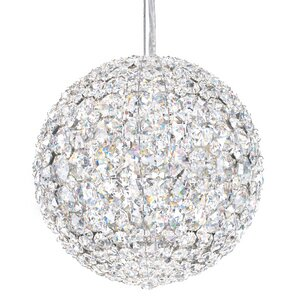 Da Vinci 4-Light Crystal Pendant by Schonbek