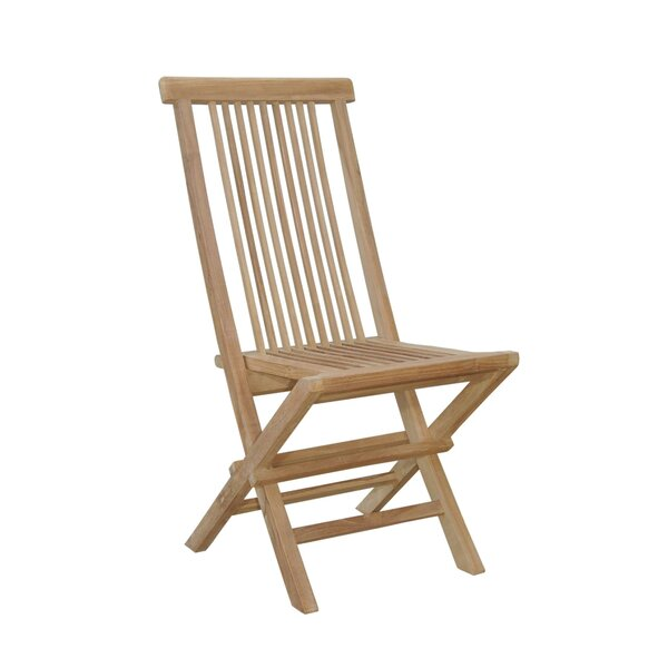 Bristol Folding Teak Patio Dining Chair by Anderson Teak