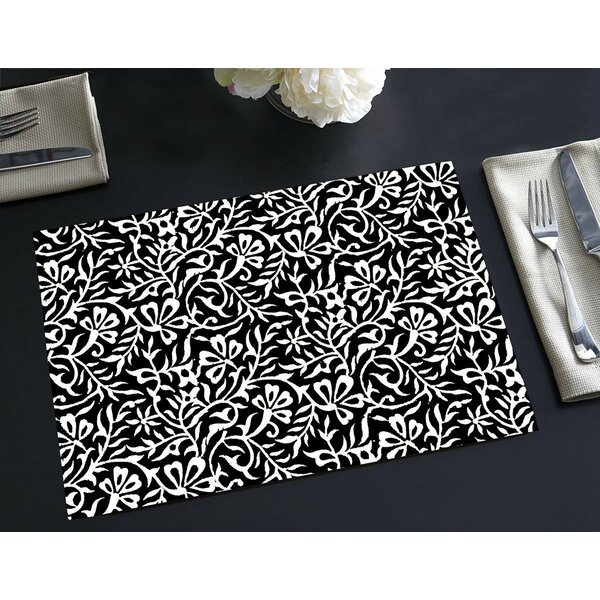 Rothbury Disposable Paper Woodcut 18 Placemat (Set of 24) by Winston Porter