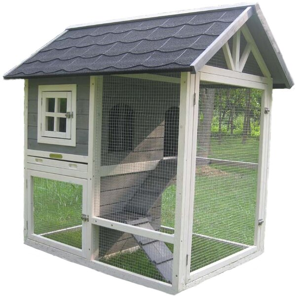 Judah Home Town Rabbit Hutch by Hutches & Cottontails