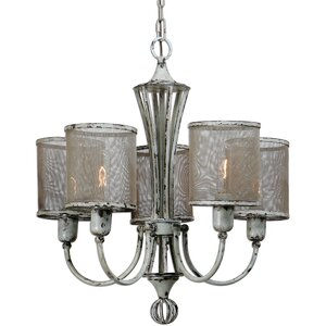 Cyrus 5-Light Shaded Chandelier
