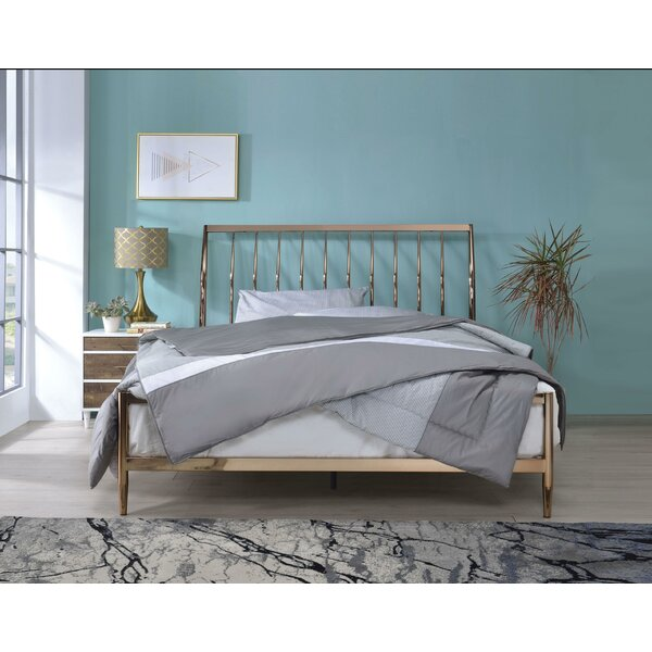 Cheever Metal Queen Standard Bed by Brayden Studio