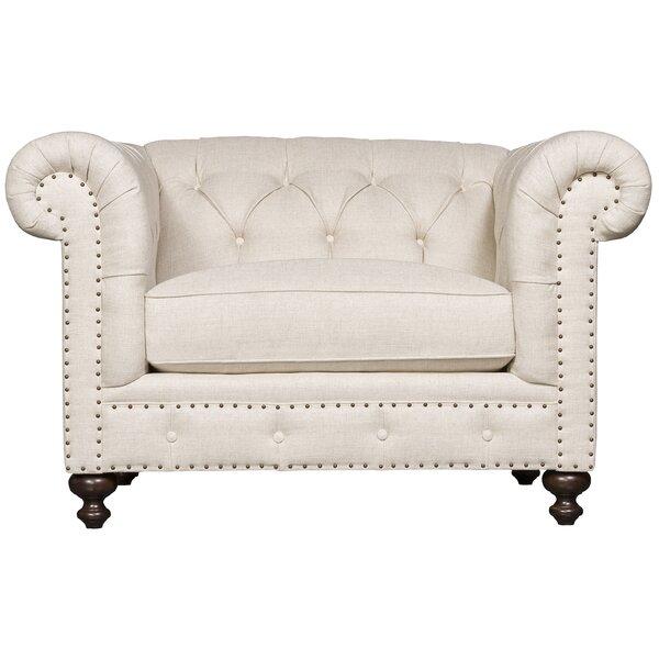 London Chesterfield Chair by Bernhardt