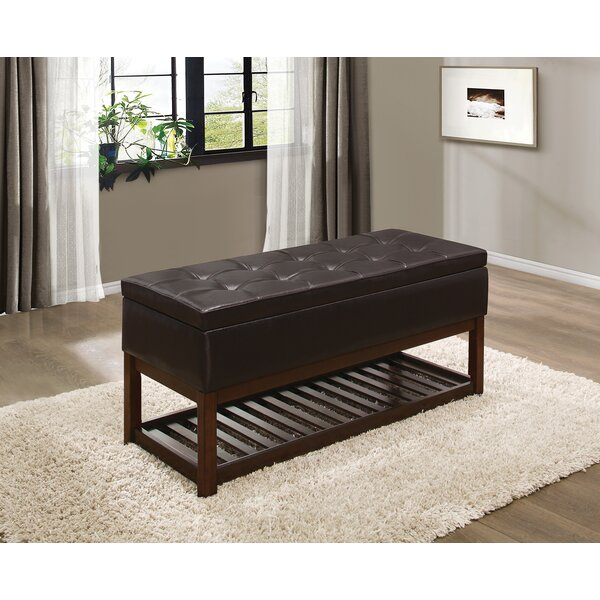 Abrahams Wood Storage Bench by Darby Home Co
