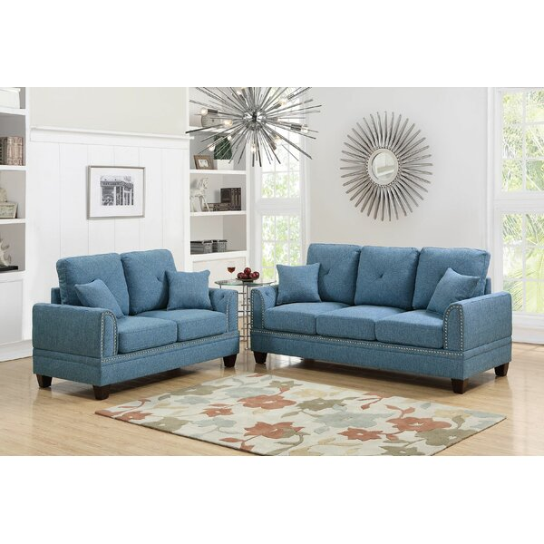 Champine 2 Piece Living Room Set by Alcott Hill