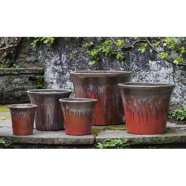 Izmir 5-Piece Terracotta Pot Planter Set by Bloomsbury Market
