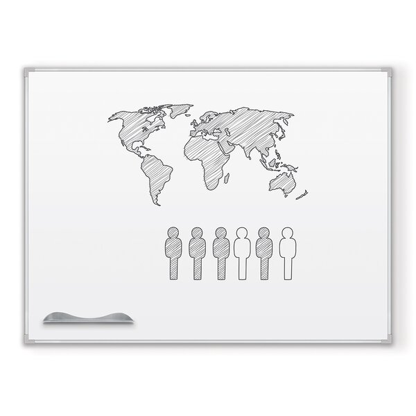 Magnetic Wall Mounted Whiteboard by Balt