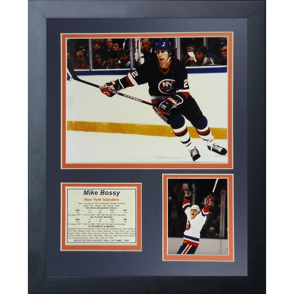 Mike Bossy - New York Islanders Framed Memorabilia by Legends Never Die