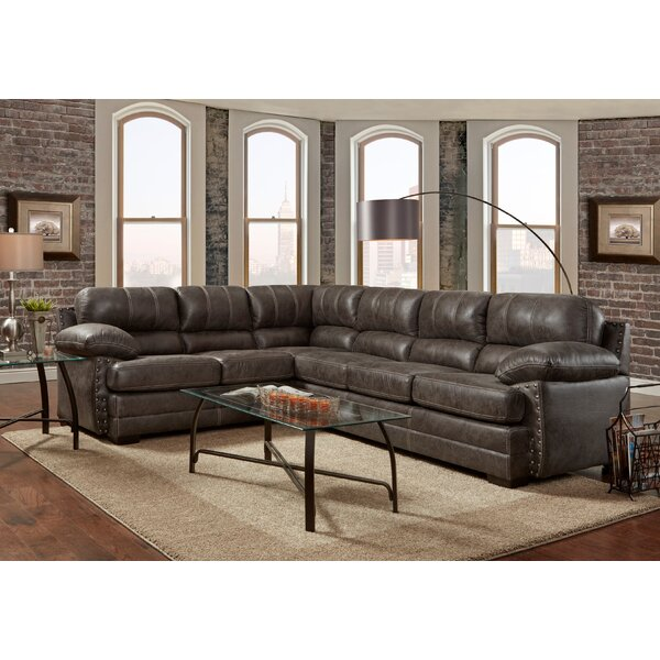 Craver Left Hand Facing Sectional by 17 Stories