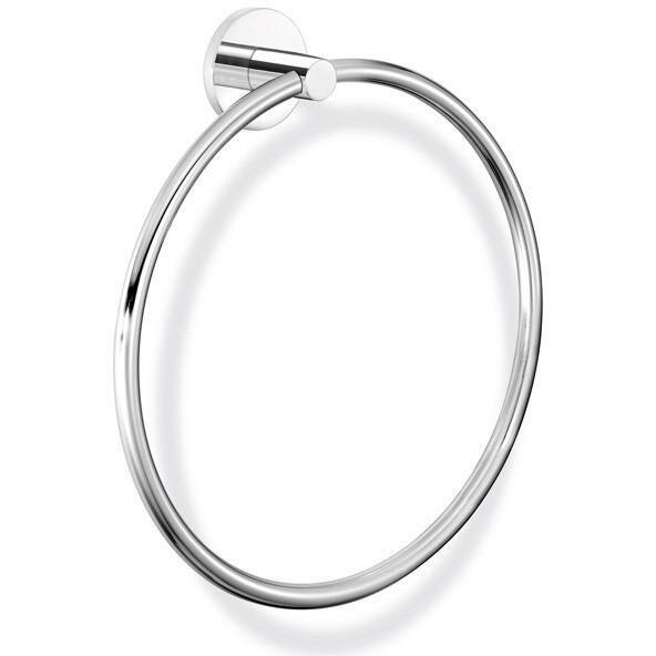 Twist Wall Round Towel Ring by AGM Home Store