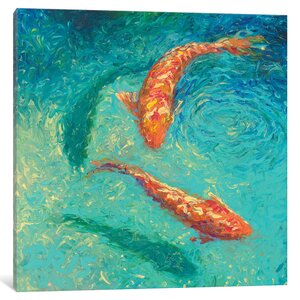 Iris Scott - Nueve Painting Print on Wrapped Canvas by World Menagerie