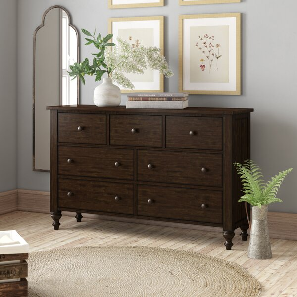 Cambra 7 Drawer Double Dresser by Birch Lane™ Heritage