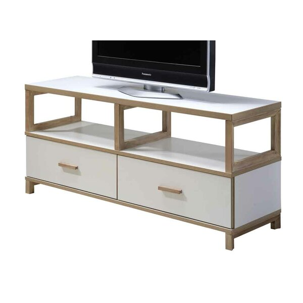 Liao Solid Wood TV Stand for TVs up to 70