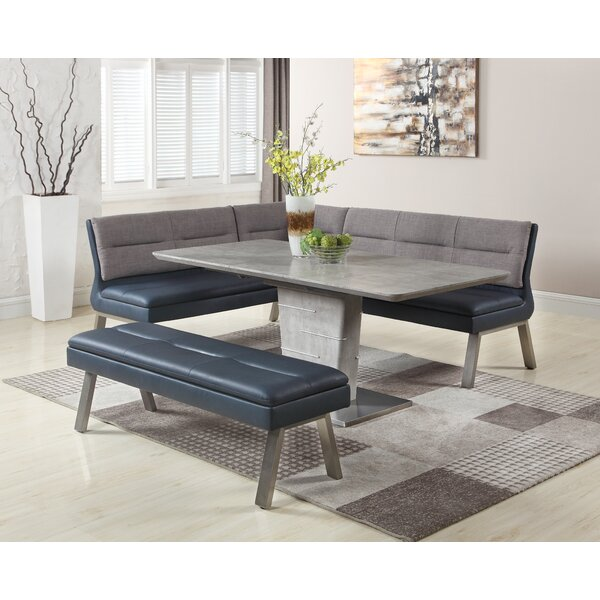 Lefever 3 Piece Extendable Dining Set by Latitude Run