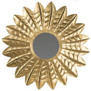 Bungalow Rose Krieger Leaf Mirror