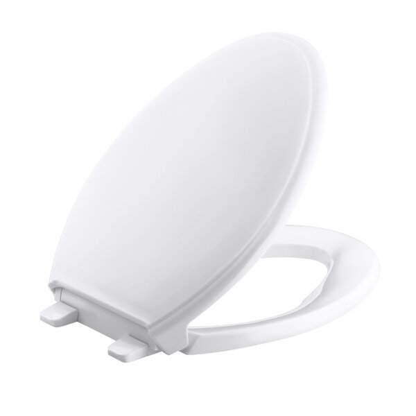 Glenbury Quiet-Close with Grip-Tightelongated Toilet Seat by Kohler