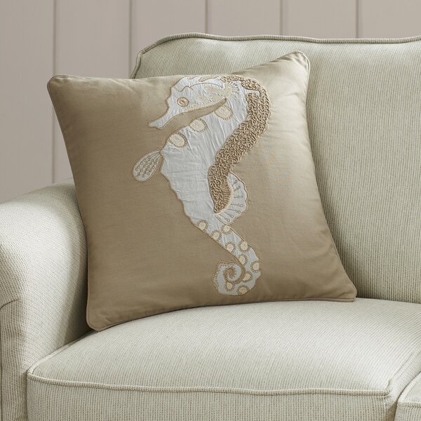 Lloyd Cotton Duck/Sheeting Throw Pillow by Beachcrest Home