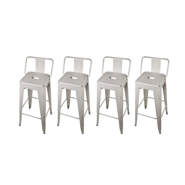 Capucine 30 Bar Stool (Set of 4) by Williston Forg