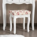 Trevion Vanity Stool by Ophelia & Co.