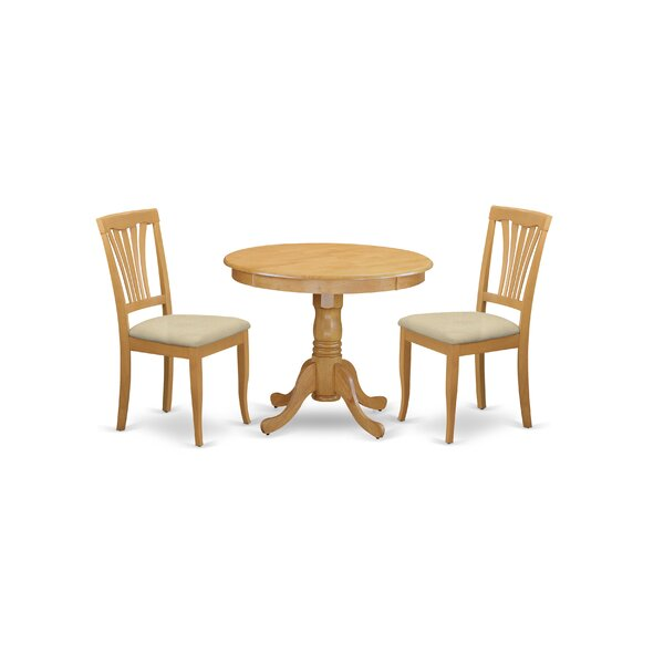 Stjohn 3 - Piece Dining Set by Charlton Home Charlton Home