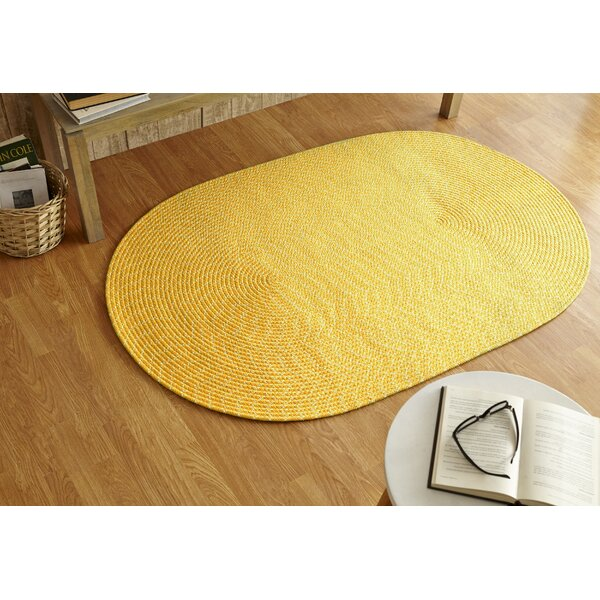 Sunsplash Yellow Area Rug by Better Trends