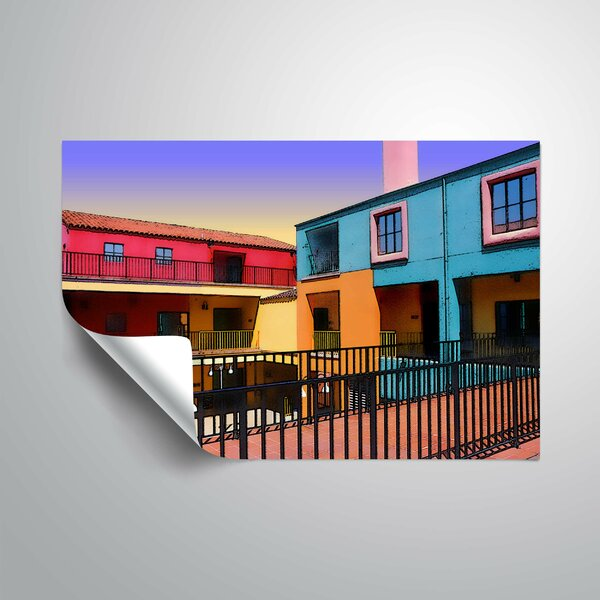 Colors and Angles Wall Decal by World Menagerie