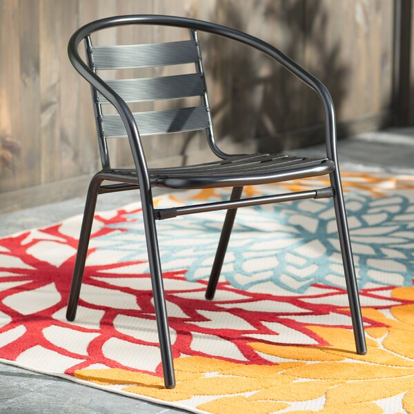 Athol Stacking Patio Dining Chair by Zipcode Design