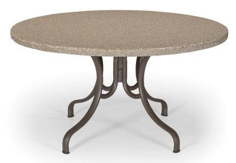 Synthestone Round Dining Table by Telescope Casual