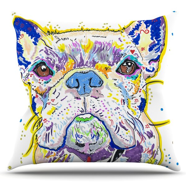 Niko by Rebecca Fischer Outdoor Throw Pillow by East Urban Home