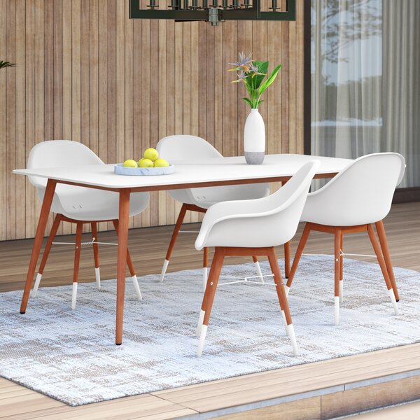 Colyer 5 Piece Dining Set by Mercury Row