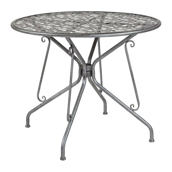 Tanksley Metal Bistro Table by Winston Porter