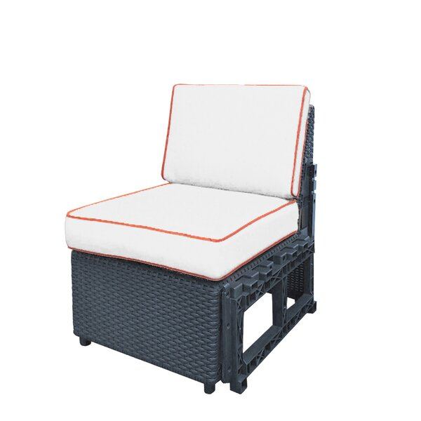 Gainey Extension Patio Chair with Cushions by Highland Dunes