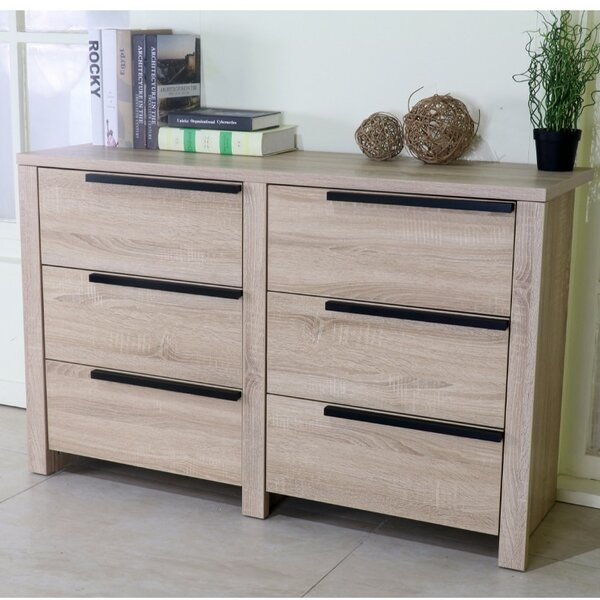 Clegg Spacious 6 Drawer Double Dresser by Ivy Bronx