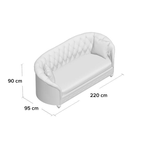 Cartensen 3 Seater Chesterfield Sofa