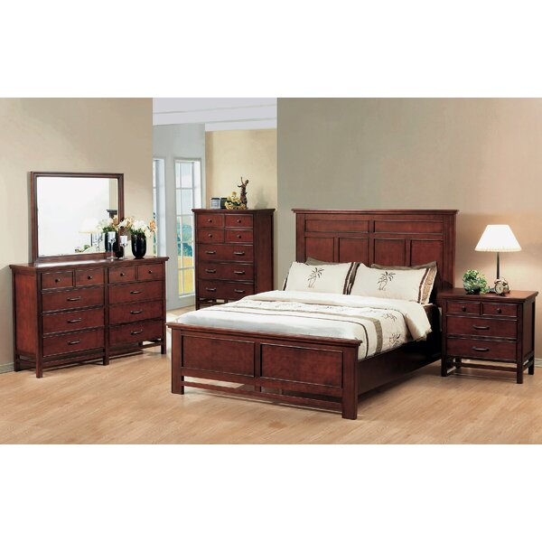 Boonville 4 Piece Panel Bedroom Set by Darby Home Co