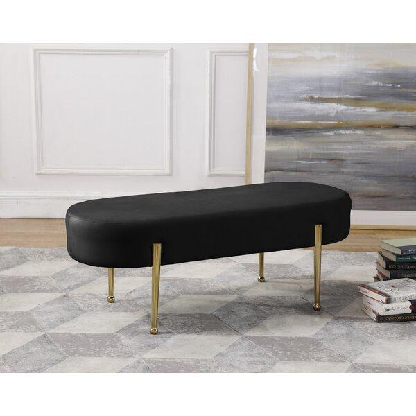 Gravette Upholstered Bench by Mercer41
