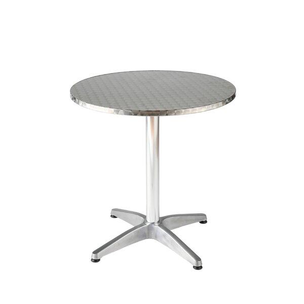 Barra Metal Bistro Table by Orren Ellis