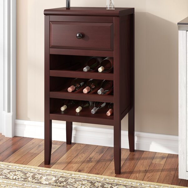 Twedt 12 Bottle Floor Wine Cabinet by Darby Home Co Darby Home Co
