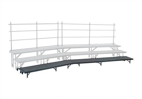 Tapered Standing Choral Single Riser in Hardboard by National Public Seating