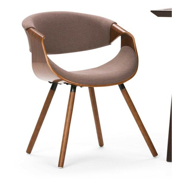 Prewitt Bentwood Upholstered Dining Chair by Ebern Designs