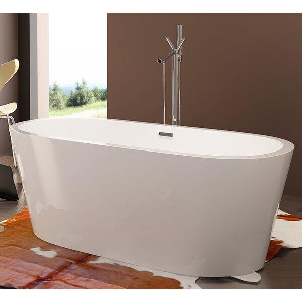 HelixBath Pella 68 x 32.25 Soaking Bathtub by Kardiel