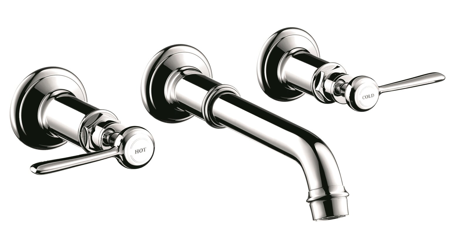Axor Axor Montreux Two Handle Wall Mounted Sink Faucet & Reviews ...