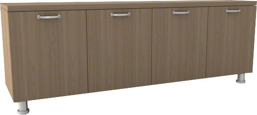 Currency 4 Door Credenza by Steelcase