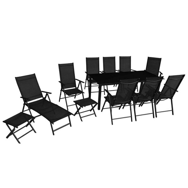 Muspelheim 12 Piece Dining Set by Orren Ellis